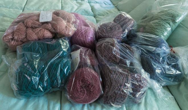 Handspun wool